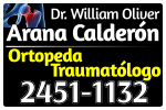 Dr. William Oliver Arana Calderon Ortopeda Traumatologo